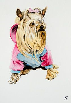 hondje von Renée Teunis