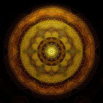 Shining Mandala sur Sabine Wagner