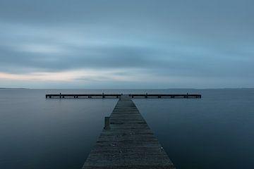 Grevelingenmeer steiger van Leo Kramp Fotografie