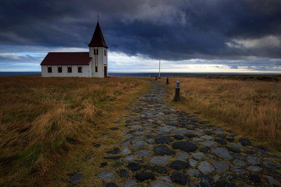 De storm van God, IJsland