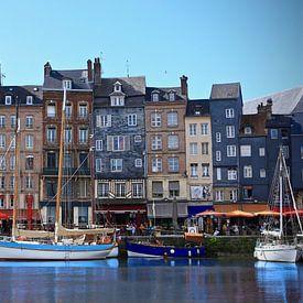 Le port de Honfleur, la Normandie, la France sur Jasper van de Gein Photography