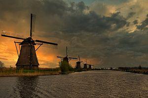 Molens van Kinderdijk van Fotografie Marco Houben