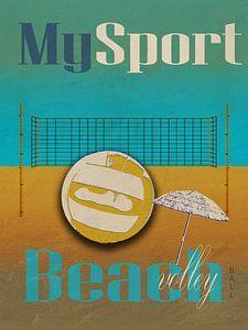 My sport Beachvolleybal van Joost Hogervorst