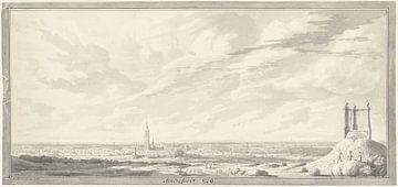 Ansicht von Amersfoort, Abraham de Haen (II), 1729