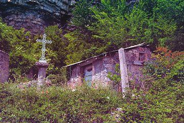 Provence schuur kruis von Rene du Chatenier