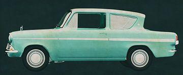 Ford Anglia 123E Deluxe 1962