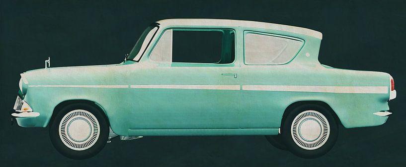 Ford Anglia 123E Deluxe 1962 van Jan Keteleer