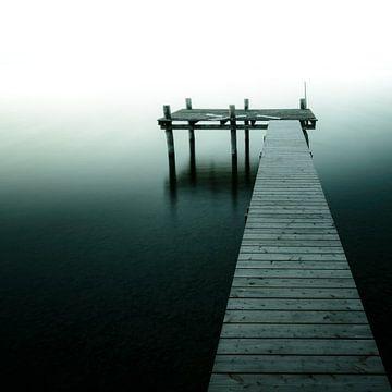 Steg ins Licht 2 von Denis Feiner