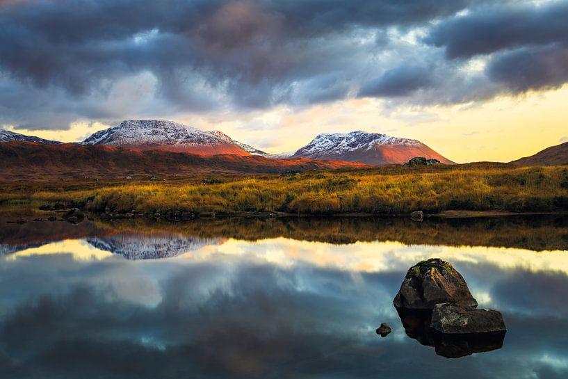 Abendstimmung in den Highlands von Daniela Beyer