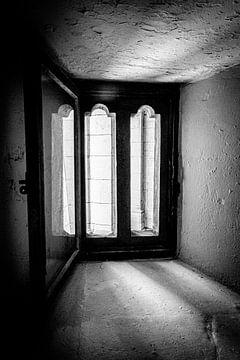 Prächtiges Fensterlicht der St. Paul's Cathedral | London | Schwarz-Weiß-Foto von Diana van Neck Photography