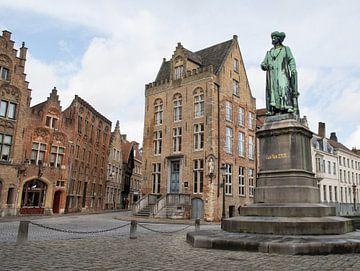 Jan van Eyckplein, Bruges sur Daniel Van der Brug