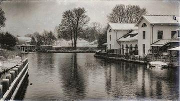 Weißes Haus von Jan van der Knaap