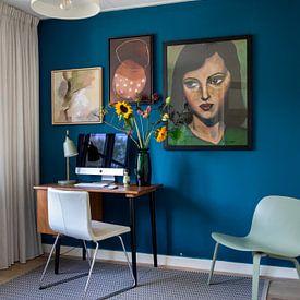 Kundenfoto: SimplyBeauty (EinfachSchön) von Lucienne van Leijen, als gerahmtes poster