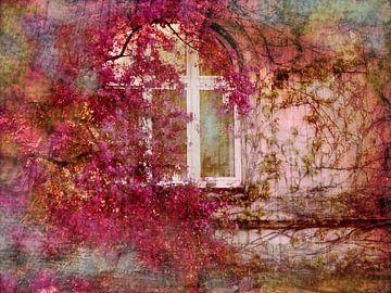 romantisch venster van Claudia Gründler