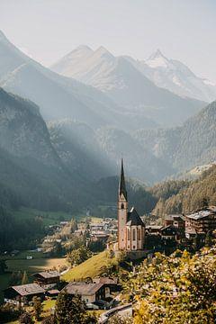 Bergdorf Heiligenblut am Ende des Großglockners in Österreich (Alpen) von Yvette Baur