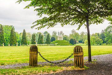 Paviljoen in een park in Vicenza, Italië van Lars-Olof Nilsson