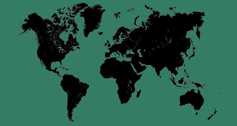 Kaart van Wouter Sikkema