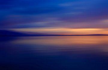 Abend am See von Thomas Jäger