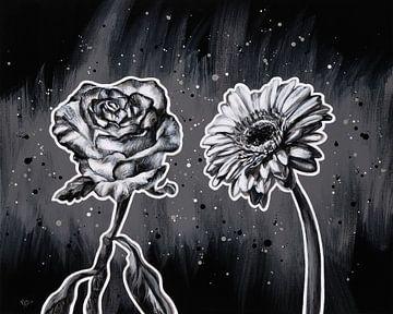 Blumenpaar von ART Eva Maria