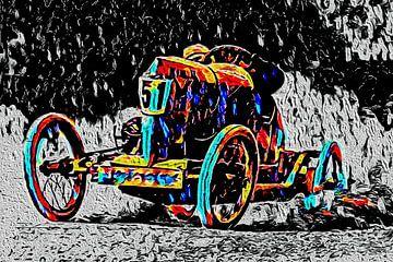 Racing  im frühen 20. Jahrhundert von Jean-Louis Glineur alias DeVerviers
