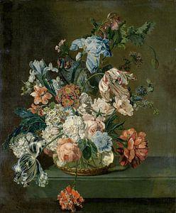Still Life with Flowers, Cornelia van der Mijn