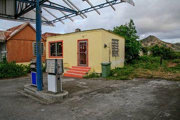 Verlassenes Pumpwerk in St. Eustatius von Joost Adriaanse