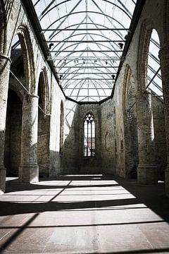 kerk in Bolsward van Iris van der Veen