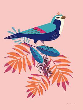 Exotische vogels III, Omar Escalante van Wild Apple