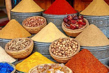 Kruiden van Marrakesh van Mario Brussé Fotografie
