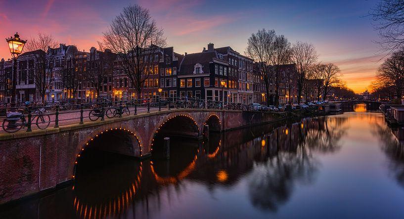 Amsterdam canals van Reinier Snijders