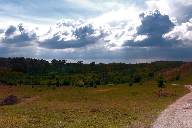 Blue clouds van jada fotografie