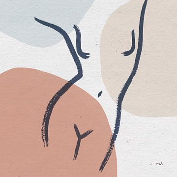 Figuren lijn I, Moira Hershey van Wild Apple