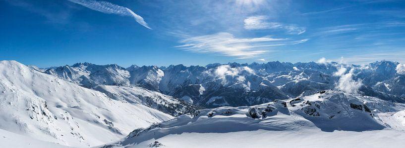 Oostenrijkse Alpen panorama van Sjoerd van der Wal