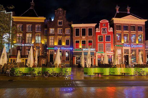 Horeca aan de zuidwand van de Grote Markt in Groningen / 2014