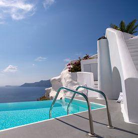 Katikies Hotel, Oia, Santorini, Greece von Robert van Hall