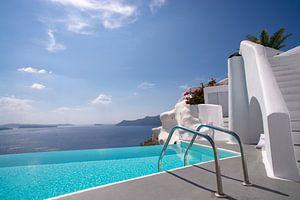 Katikies Hotel, Oia, Santorini, Greece van