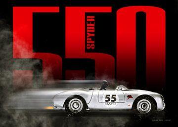 Porsche 550 Spyder von Theodor Decker