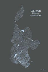 Sloten Noord Holland van Ruben Wester