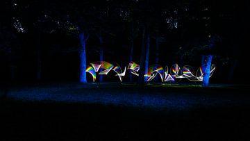 Nocturnal Rainbows in the forest, one van Licht! Fotografie