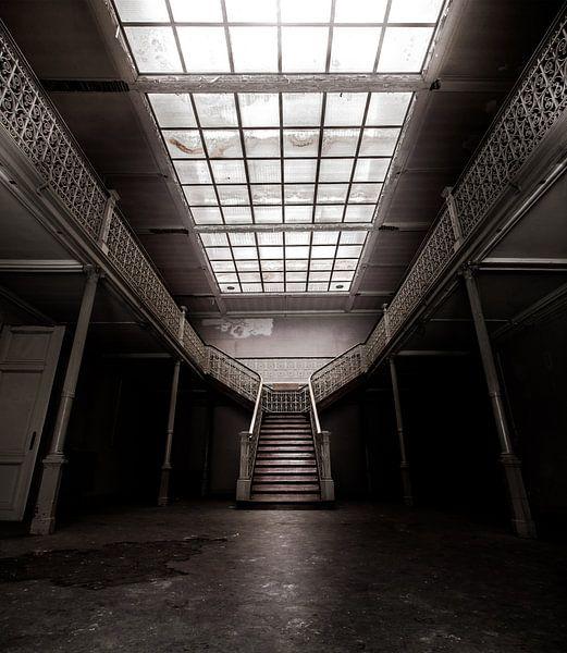 Grand masters stairs van Olivier Van Cauwelaert
