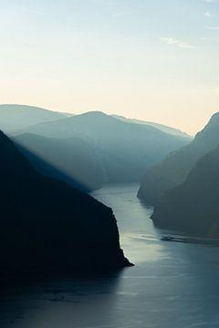 Aurlandsfjord Norwegen von Eline Huizenga