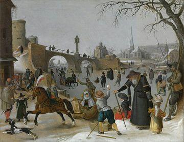 Spaß auf dem Eis, Sebastiaen Vrancx von