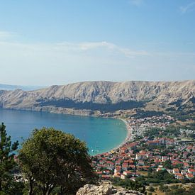 Baai bij Baska - Kroatië van Babetts Bildergalerie