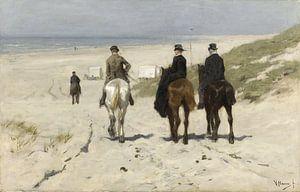 Morgenritt am Strand (Anton Mauve) von Rebel Ontwerp