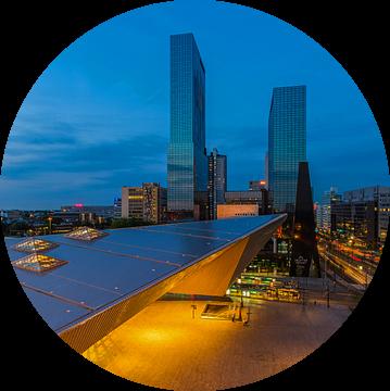 Stationsplein Rotterdam Centraal Station (versie 2) van MS Fotografie | Marc van der Stelt