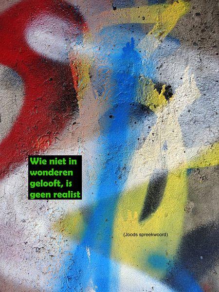 Wie Niet In Wonderen Gelooft Is Geen Realist van MoArt (Maurice Heuts)
