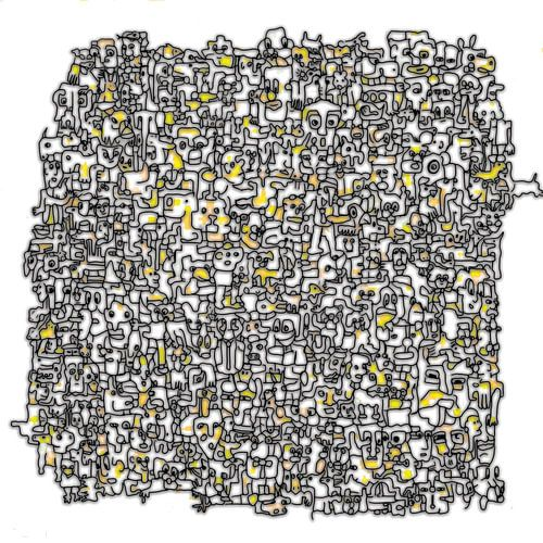 Vreemde kostgangers V2 in geel van
