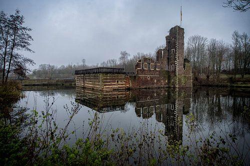 oud vervallen kasteel