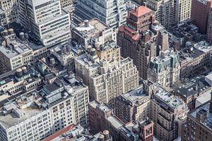 Straßen von Manhattan van
