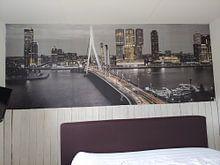 Kundenfoto: Skyline Rotterdam bei Nacht - Rotterdam Finest! von Sylvester Lobé
